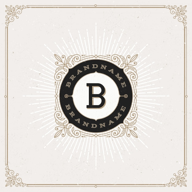 - gedeiht monogramm logo.