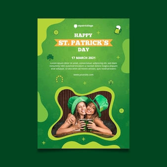 Gefälle st. patrick's day poster