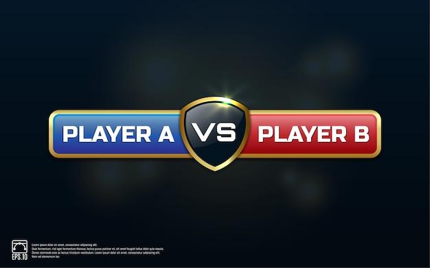 Gegen board of rivals, mit platz für text.