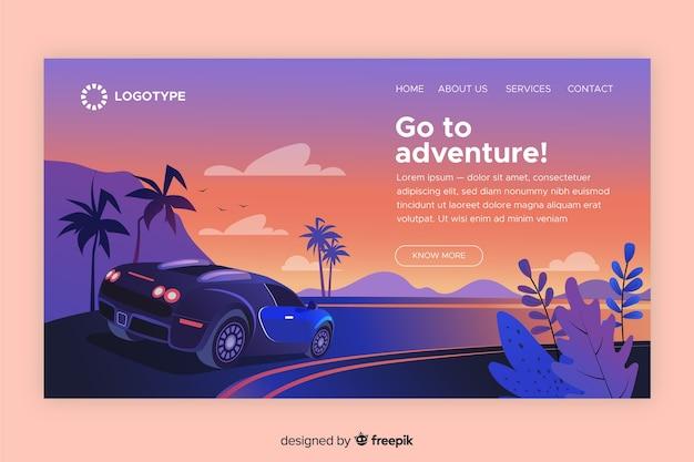 Gehe zur adventure landing page