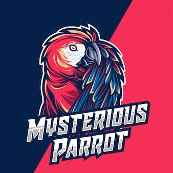 Geheimnisvoller papagei