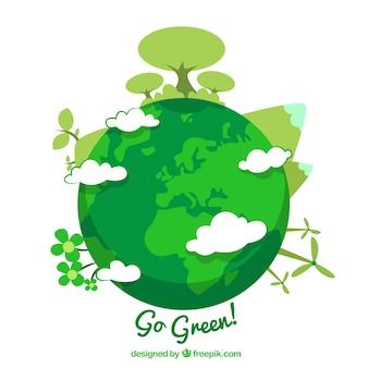 Gehen grün!