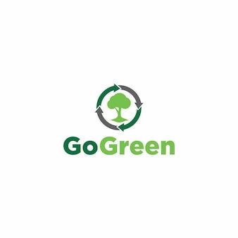 Gehen sie grün