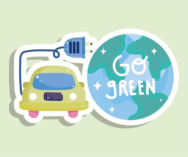 Gehen sie grüne energie
