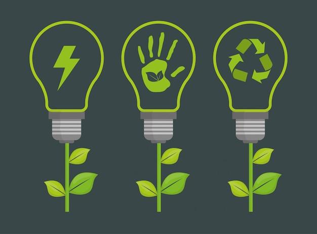 Gehen sie grünes design.