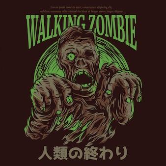 Gehender zombie