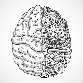 Gehirn als verarbeitungsmaschine