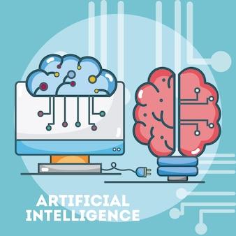 Gehirn der künstlichen Intelligenz