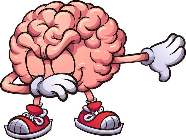 Gehirn tupfen