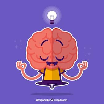 Gehirn-zeichen