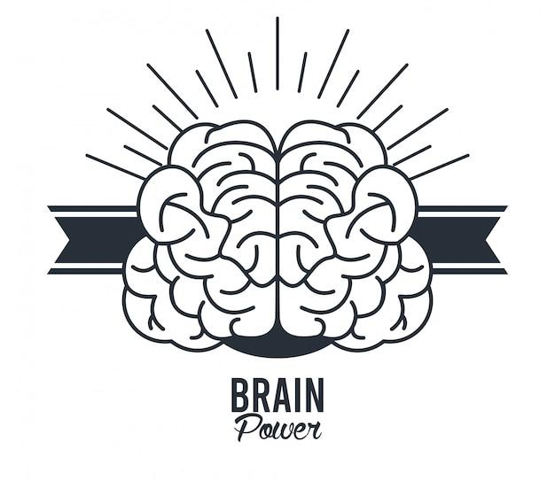 Gehirnleistung mit band