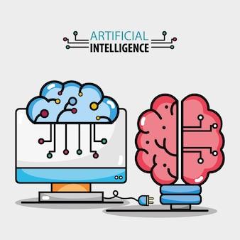 Gehirnschaltungen künstliche intelligenz und computertechnologie