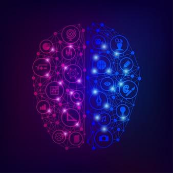 Gehirnseite