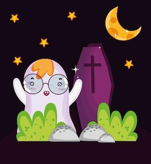 Geist- und sargnacht halloween