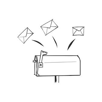 Gekritzel-briefkasten