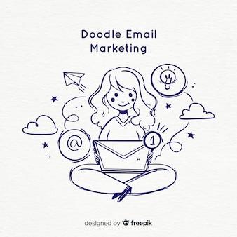 Gekritzel-e-mail-marketing