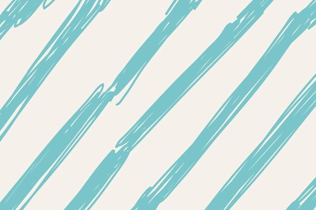Gekritzelhintergrund, grüner bürstenmuster-designvektor