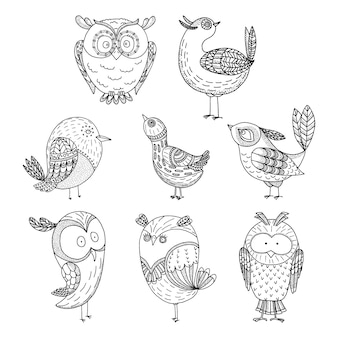 Gekritzelvögel eingestellt
