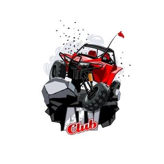 Geländewagen-buggy-logo