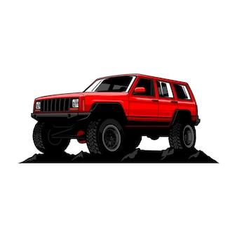 Geländewagen illustration