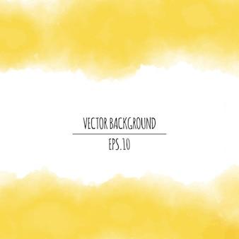 Gelb aquarell hintergrund
