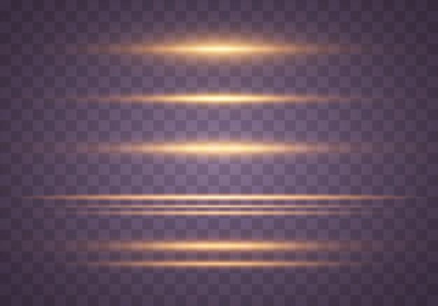 Gelb, gold leuchtendes licht. funkelnde staubpartikel.