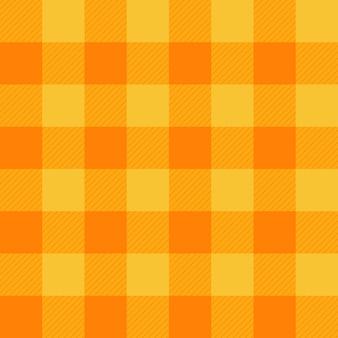 Gelb-orangeer Schachbrett-Hintergrund