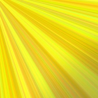 Gelbe abstrakte sunray hintergrund design - vektor-grafik aus strahlen aus der oberen linken ecke