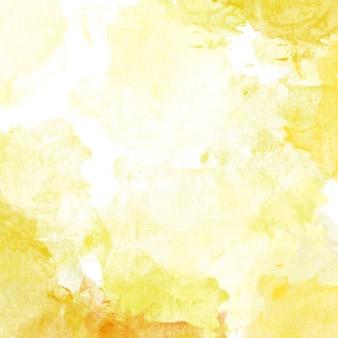 Gelbe aquarell hintergrund