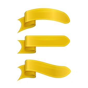 Gelbe bänder