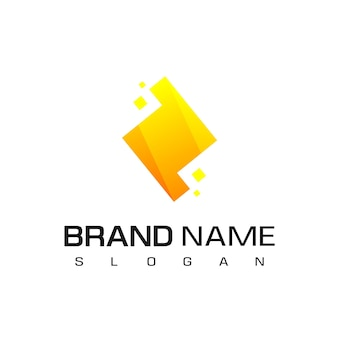 Gelbe schraube logo vorlage