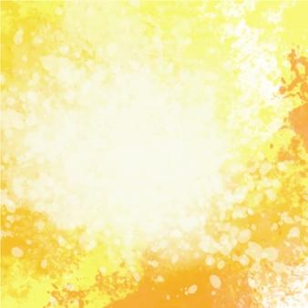 Gelber aquarellhintergrund