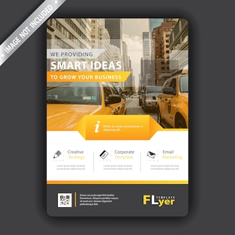 Gelber flyer