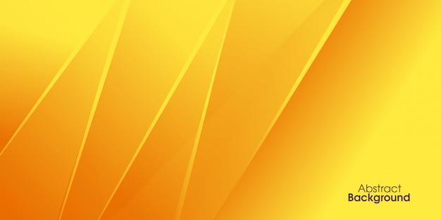 Gelber geometrischer hintergrund