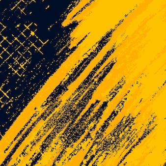 Gelber grunge mit hintergrund