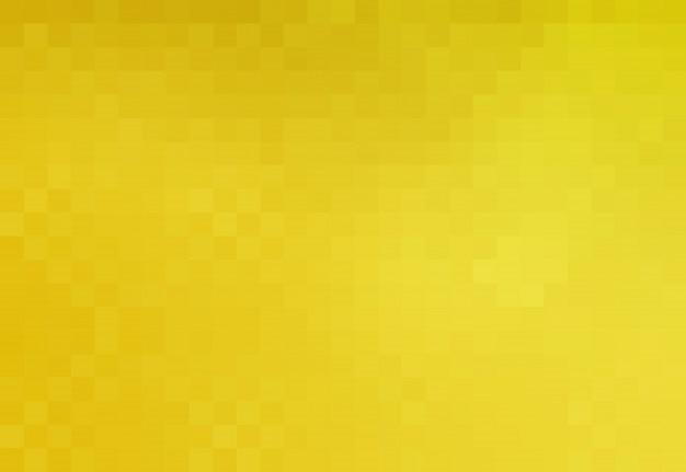 Gelber quadratischer pixel-mosaik-hintergrund