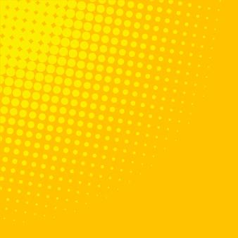 Gelber steigungshalbtonhintergrund