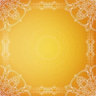Gelber stilvoller luxushintergrund