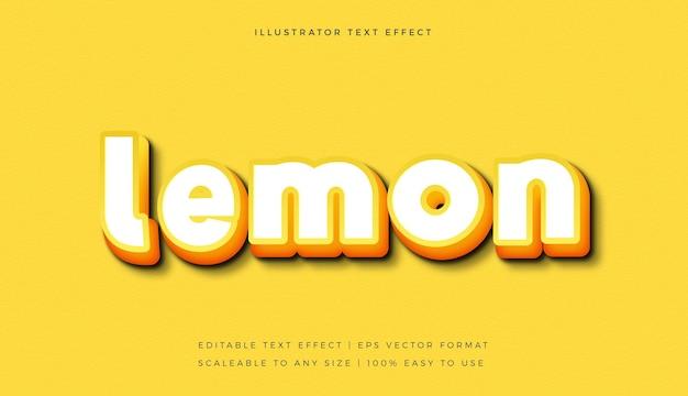 Gelber weißer heller textstil-schrifteffekt