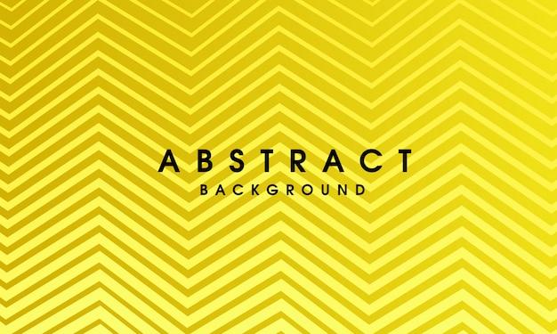Gelbes abstraktes geometrisches design