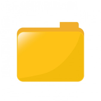Gelbes dateidatenzentrum bezogen
