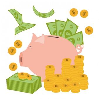 Geld design.