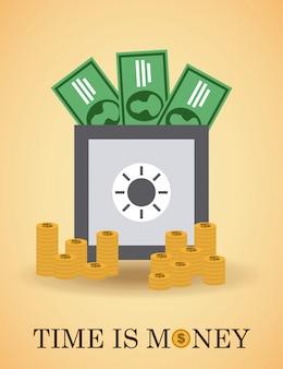 Geld einfaches element