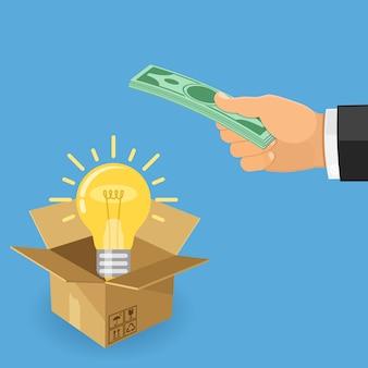 Geld für die idee