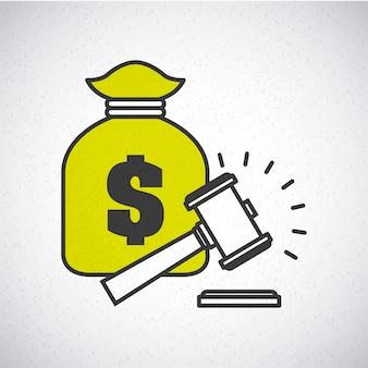 Geld-konzept-design