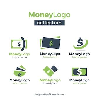 Geld logo vorlage sammlung