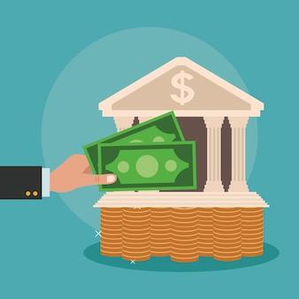 Geld sparen und investieren