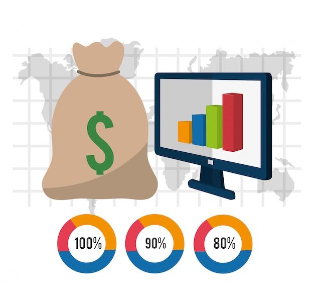 Geld und business-design