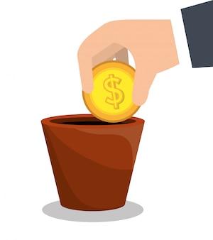 Geld- und gewinnwachstum