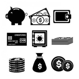 Geld-vektor-design-illustration